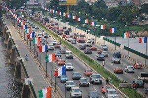Drapeaux_Abidjan