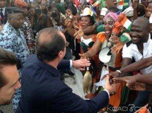 Hollande en CI