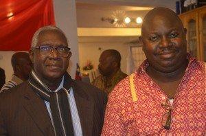 Doumbi Fakoly et votre serviteur